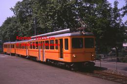 ReproductionPhotographie D'un Train SZU à Zurich En Suisse En 1978 - Reproductions