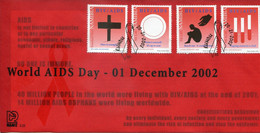Namibia Mi# 1093-6 Used On Official FDC - AIDS HIV Health Care - Namibie (1990- ...)