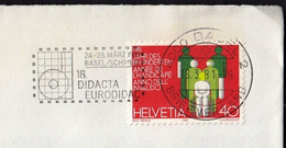Switzerland Basel 1981 / 18. DIDACTA EURODIDAC / Exposition, Fair, Messe / Machine Stamp - Wereldtentoonstellingen