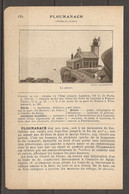 1921 PLOUMANACH CHEMIN DE FER RESEAU DE L'ETAT JUSQU'A LANNION CHEMIN DE FER DES COTES DU NORD DE LANNION - Railway