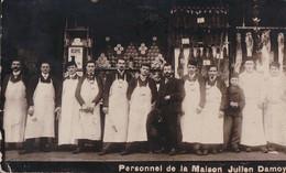 Personnel De La Maison Julien Damoy CPA  1906 - Tiendas