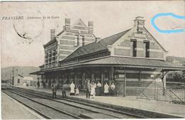 FRANIERE - Intérieur De La Gare - Floreffe