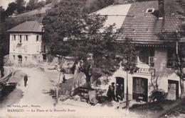 Manigod (74) La Place De La Nouvelle Poste CPA  1917 - Sonstige Gemeinden