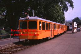 ReproductionPhotographie D'une Vue D'un Train SZU Circulant à Zurich En Suisse En 1978 - Reproductions