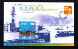 HONG  KONG    1997    Hong  Kong  Stamp  Exhibition    Sheetlet    MNH - Unused Stamps