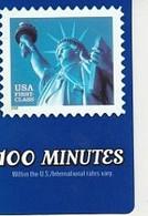 TIMBRE   STATUE DE LA LIBERTE    PrepayUSA TelCard   USA - Telefoonkaarten