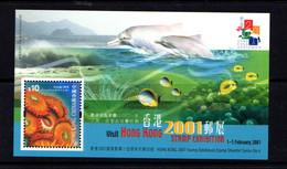 HONG  KONG    2000    Hong  Kong  Stamp  Exhibition    Sheetlet    MNH - Unused Stamps
