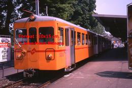 ReproductionPhotographie D'un Train SZU Uetlibergbahn En Zurich En Suisse En 1978 - Reproductions