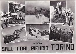 RIF.TORINO - COURMAYEUR - SALUTI DAL ..- VEDUTINE -1975 - Aosta