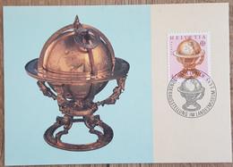 Suisse - CM 1983 - YT N°1178 - Europa / Génie Humain - Maximumkarten (MC)