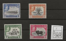 Pakistan - Bahawalpur, 1949, SG  39 - 42, Complete Set Of 4, MNH - Pakistan
