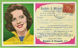 Porto - Mata-Borrão Casa Bordalo & Morgado Natalie Wood Blotter Buvard Actress Theatre Cinema United States Portugal - Cinema & Teatro