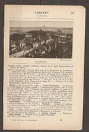 1921 LORIENT CHEMIN DE FER D'ORLEANS STATION DE LA LIGNE NANTES QUIMPER (620 KM) DE PARIS - Railway