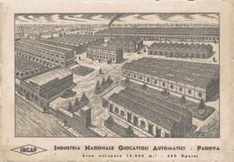Padova Cartolina Pubblicitaria INGAP Industria Giocattoli FG P585/S - Padova (Padua)