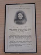 Faire Part Deces De Marie Neyron De Saint Julien, Comtesse De Nadaillac (dordogne) En 1903 - Obituary Notices