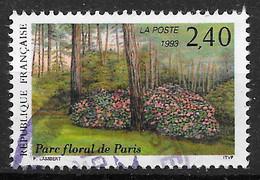 FRANCE 2850 Salon Du Timbre Fleurs Plantes . Parc Floral De Paris . - Used Stamps