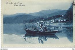 ITALIE - Un Salutoda Luino - Lago Maggiore 1925 - Luino