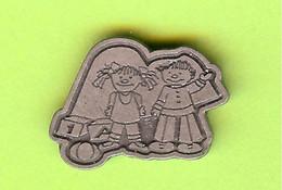 Pin's Enfants Jouets (Argenté) - 8D01 - Pin's