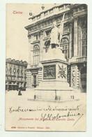 TORINO - MONUMENTO DEI MILANESI ALL'ESERITO SARDO  VIAGGIATA FP - Italy