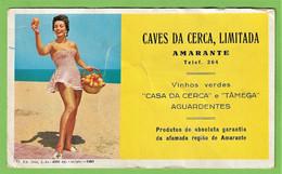 Amarante - Mata-Borrão - Caves Da Cerca - Blotter - Buvard - Actress - Cinema - Theatre - Vinho - Vin - Wine - Portugal - Cinema & Teatro