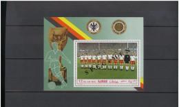 AJMAN  1969 Football Soccer World Cup 1954 Germany Team SS SPECIMEN  Rare! - 1954 – Zwitserland