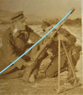 Photo IJZER Front Fusil Grenade Gun  Belgische Leger 1914-18 ABL WO1 - Guerra, Militari