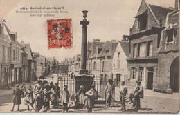 GUEMENE Sur SCORFF - Monument élevé à La Mémoire De Bisson, Mort Pour La Patrie - Enfants Devant Le Monument. - Other Municipalities