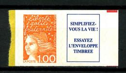3101 A - 1F00 Orange + Vignette -  Neuf N** - Très Beau - Neufs