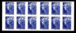 Carnet 4201-C1 - TVP Bleu Marianne De Beaujard X 12 - Neuf - Non Plié - Très Beau - Usados Corriente