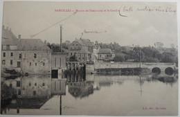MAROILLES - Moulin De L'électricité Et Le Gouffre - CPA 1918 - Otros Municipios