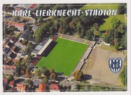 FOOTBALL - AK 384836 Stadium / Stadion - Babelsberg - SV Babelsberg 03 - Karl-Liebknecht-Stadion - Soccer