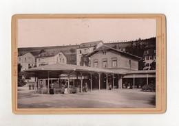 Y1774/ Kabinettfoto  Schwalbach Stahlbrunnen 1890 - Sin Clasificación