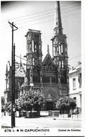143342 ARGENTINA CORDOBA CHURCH IGLESIA DE LOS CAPUCHINOS PHOTO NO POSTAL POSTCARD - Photographs