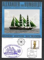 BRD/Bund 1990 Gedenkblatt Grossherzogin Elisabeth - Segelschulschiff - Elsfleth-Weser - [7] Federal Republic