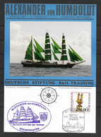 BRD/Bund 1990 Gedenkblatt Alexander Von Humboldt- Deutsche Bark - [7] Federal Republic
