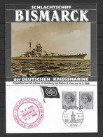 BRD/Bund 1989 Schlachtschiff Bismark Der Deutschen Kriegsmarine - Covers & Documents