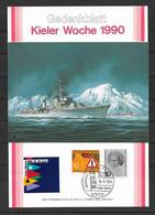 BRD/Bund 1990 Kieler Woche - [7] Federal Republic