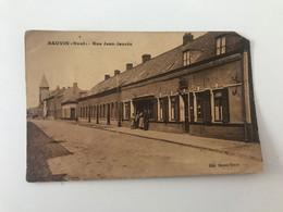 """Carte Postale Ancienne BAUVIN """"Nord"""" Rue Jean Jaurès - Sonstige Gemeinden"""