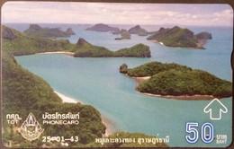 Opt. Telefonkarte Thailand - Landschaft - Thailand