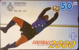 Opt. Telefonkarte Thailand - Fußball (1) - Thailand