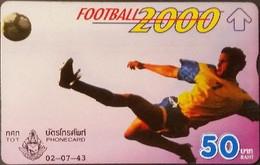 Opt. Telefonkarte Thailand - Fußball (2) - Thailand