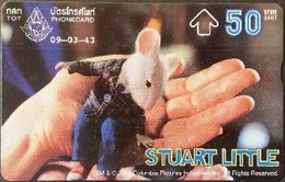 Opt. Telefonkarte Thailand - Movie , Film - Stuart Little (1) - Thailand