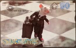 Opt. Telefonkarte Thailand - Movie , Film - Stuart Little (4) - Thailand