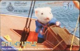 Opt. Telefonkarte Thailand - Movie , Film - Stuart Little (5) - Thailand