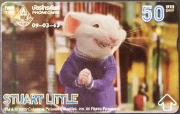 Opt. Telefonkarte Thailand - Movie , Film - Stuart Little (6) - Thailand