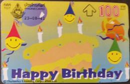Opt. Telefonkarte Thailand - Happy Birthday - Thailand