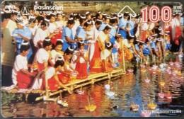 Opt. Telefonkarte Thailand - Tradition -  Lichtfest (1) - Thailand