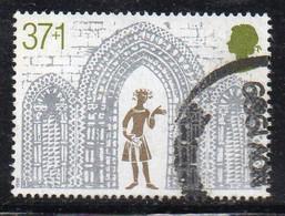 W2151 - GRAN BRETAGNA 1989, 37+1 P. Unificato N. 1418 Usato (2380A). - 1952-.... (Elizabeth II)