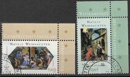 2008 Vatikan  Mi. 1626-7  FD-used   NOEL - Used Stamps