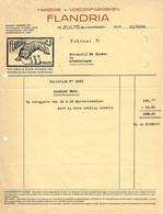 ZULTE, MAISERIE FLANDRIA 1946 Factuur, MAISERIE LEON VERSELE, 1931 Publiciteit Uit Le Petit Journal Du Brasseur - Facturen